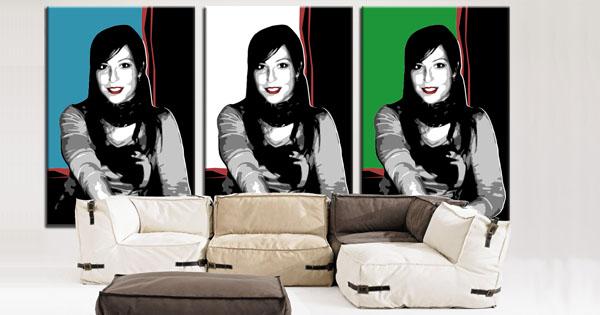 Retrato POP Art Andy Warhol